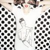 HOUSE OF HOLLAND  t's modelled by Agyness Deyn