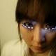 LED Eyelashes for Halloween!