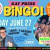 Gay Pride Bingo w/Linda Simpson & Murray Hill