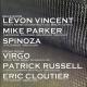 The Bunker: Virgo + Levon Vincent + Mike Parker + Patrick Russell