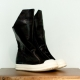 Rick Owens Leather Hiking Boot