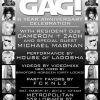 GAG! Eight-Year Anniversary + Legends of Disco