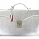 Thom Browne Silver Briefcase for Dover Street Market