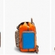 Pierre Hardy Color Block & Zebra Printed Backpack