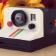 LEGO Polaroid OneStep SX-70 Camera by Chris McVeigh