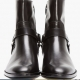 Saint Laurent  Zippered Biker Boots
