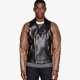Versace Mens Quilted Leather Jacket