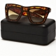 Ksubi Tortoiseshell Outline Skeleton Sunglasses