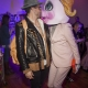Nico Tortorella Kisses Mx Qwerrrk at Patricia Field Art/Fashion Exhibition NYC