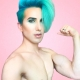 Watch: Ricky Rebel Sparkles with Self-Confidence in