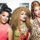 Alexis Mateo, Yara Sofia & Raven at 340 Nightclub