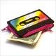 Cassette Coin Purses