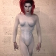 Sharon Needles as Marilyn Manson Halloween