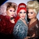 The Vivienne, Divina de Campo & Baga Chipz (RuPaul's Drag Race UK Season 1)
