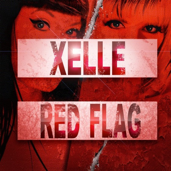 XELLE Red Flag iTunes cover art