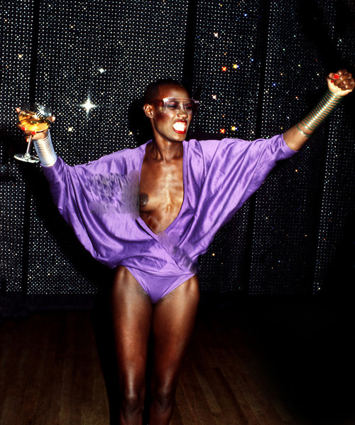 Grace Jones at Studio 54