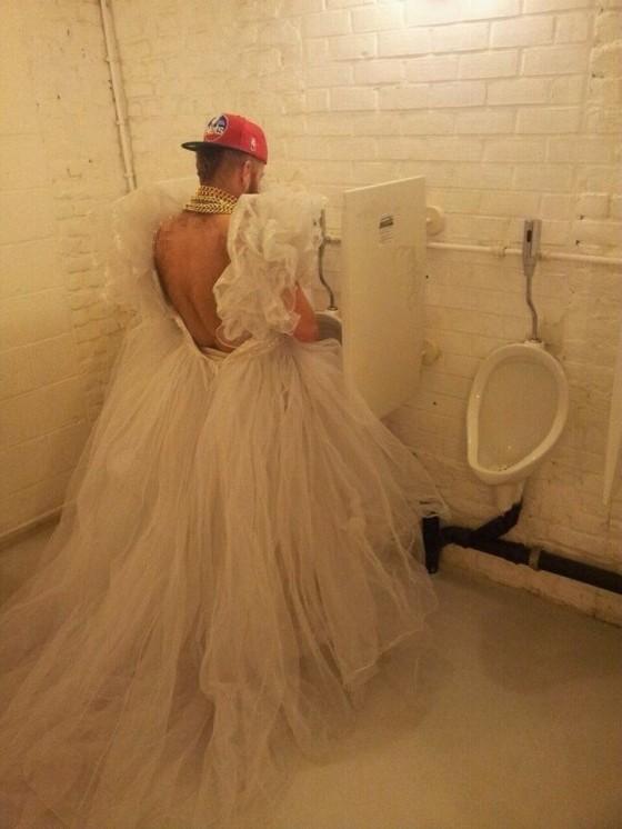 pissed bride
