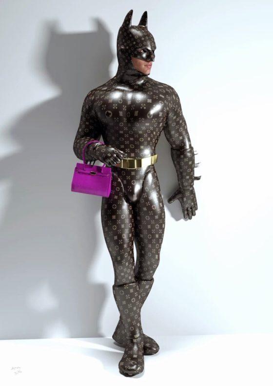 batman purse first