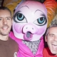 Mx Qwerrrk Gets Piggy w/ Andy Cohen at Easternbloc 10 Year Annivesary NYC