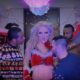 """Watch: Britney Spears – Slumber Party (Parody) """"Christmas Party"""" Starring Derrick Barry"""