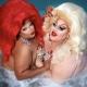 Silky Ganache & Eureka (RuPaul's Drag Race All Stars 6)